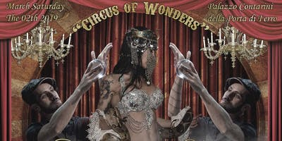 "CARNIVAL IN LOVE GRAND BALL  "" CIRCUS OF WONDERS """
