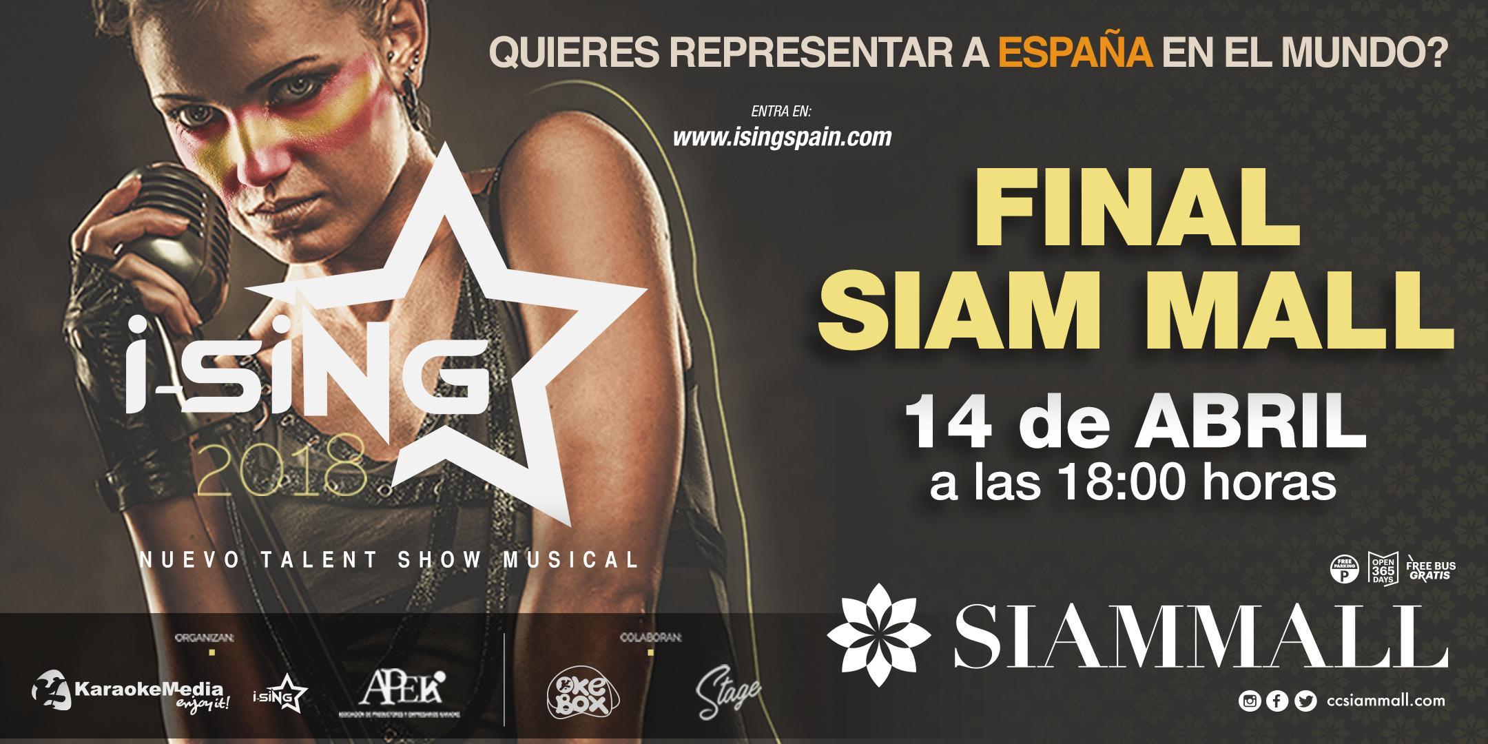Final I-Sing en Siam Mall