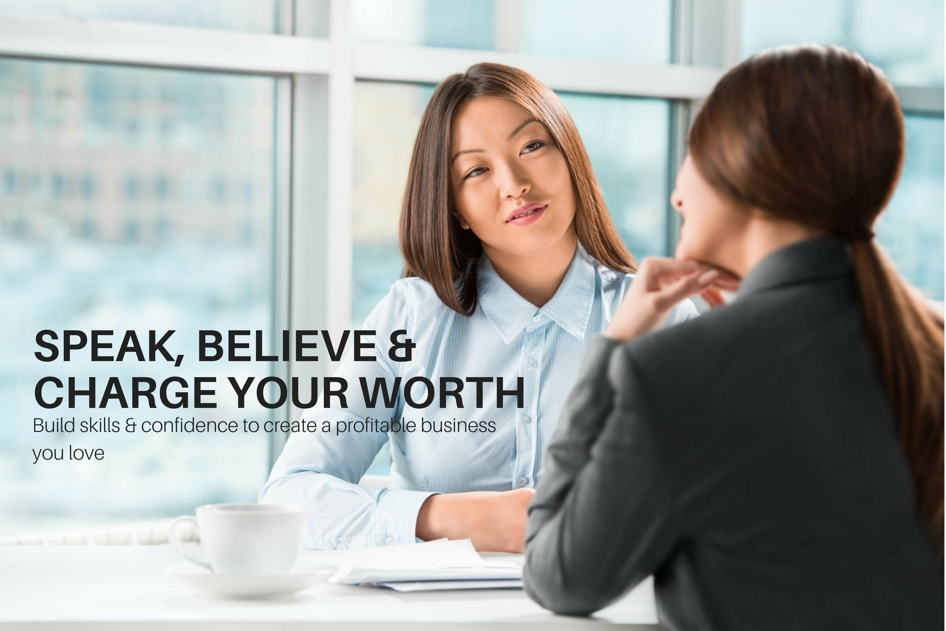 Speak, Believe & Charge Your Worth: Pricing for Entrepreneurs