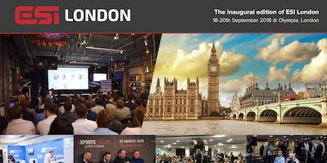 ESI London tickets