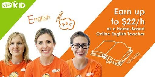 VIPKID FREE LIVE COACHING-$18-$22/HR TEACHING FROM HOME-BACHELORS REQ SAN