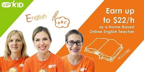 JOB/CAREER FAIR VIPKID COACHING: MAKE $22/HR FROM HOME - NEED BACHELORS TOR tickets