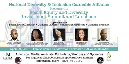 NDICA Cannabis Social Equity and Diversity Investment Summit Luncheon in Atlanta