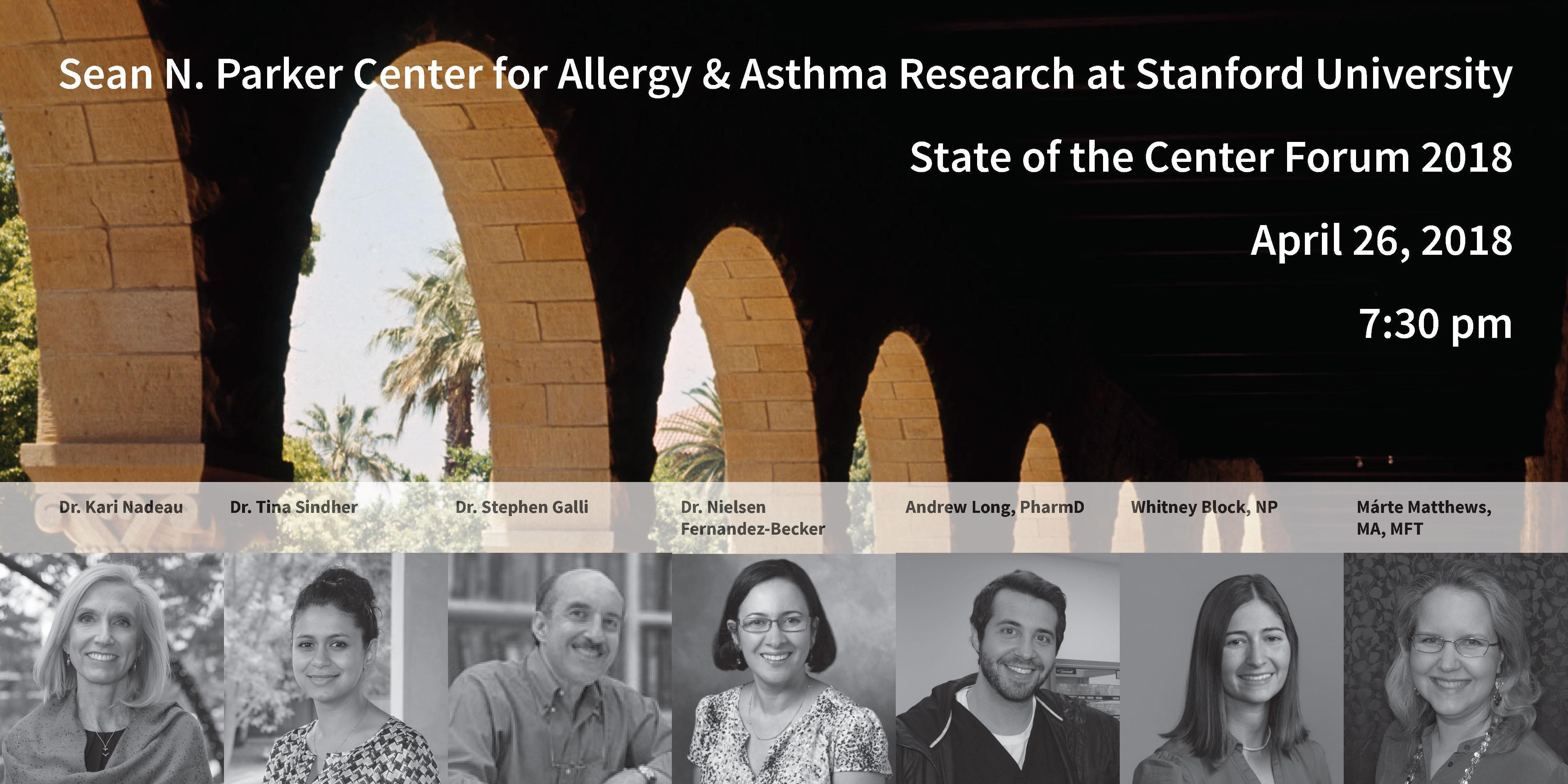 Allergy and Asthma State of the Center Forum