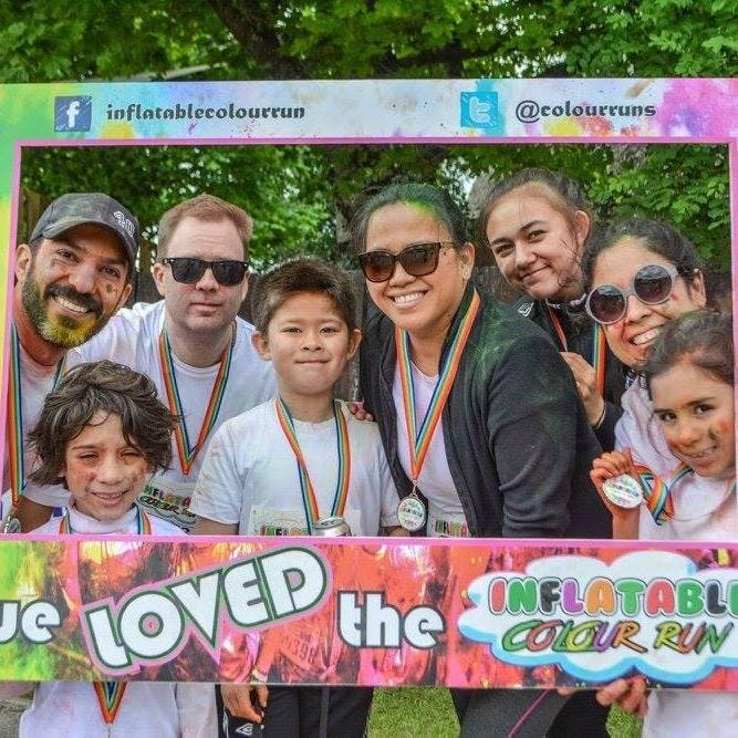 Inflatable Colour Run-Killarney Co Kerry 2018