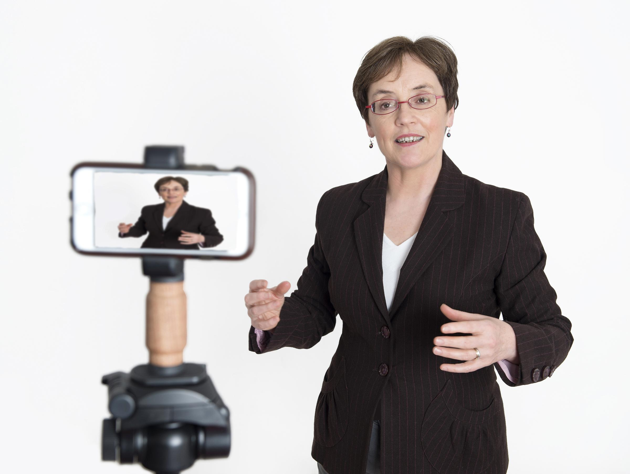 MOBILE VIDEO MADE EASY One Day Workshop with Aileen O'Meara