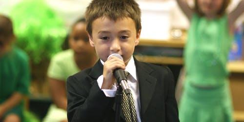 Public Speaking Kids & Teens Summer Workshops