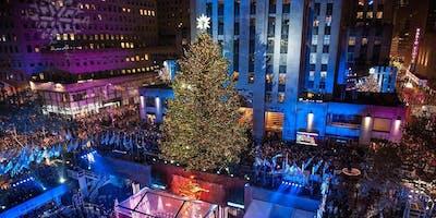 Rockefeller Center Holiday Christmas Tree Lighting 2018 Gala - New Yor