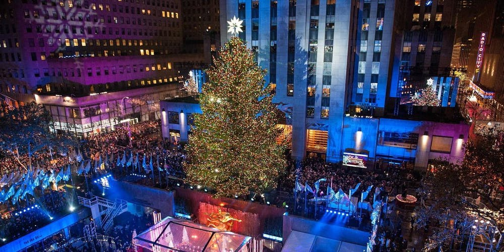 rockefeller center holiday christmas tree lighting 2018 gala new york tickets wed nov 28 2018 at 630 pm eventbrite
