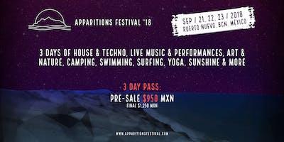 Apparitions Festival 2018