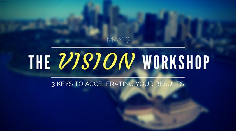 The Vision Workshop: 3 Keys to Accelerating Y
