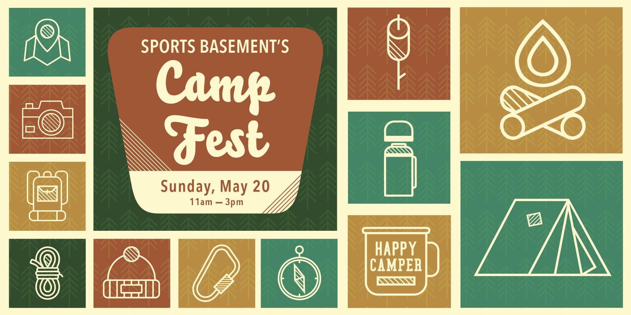 Sports Basement Campbell: CAMPFEST!