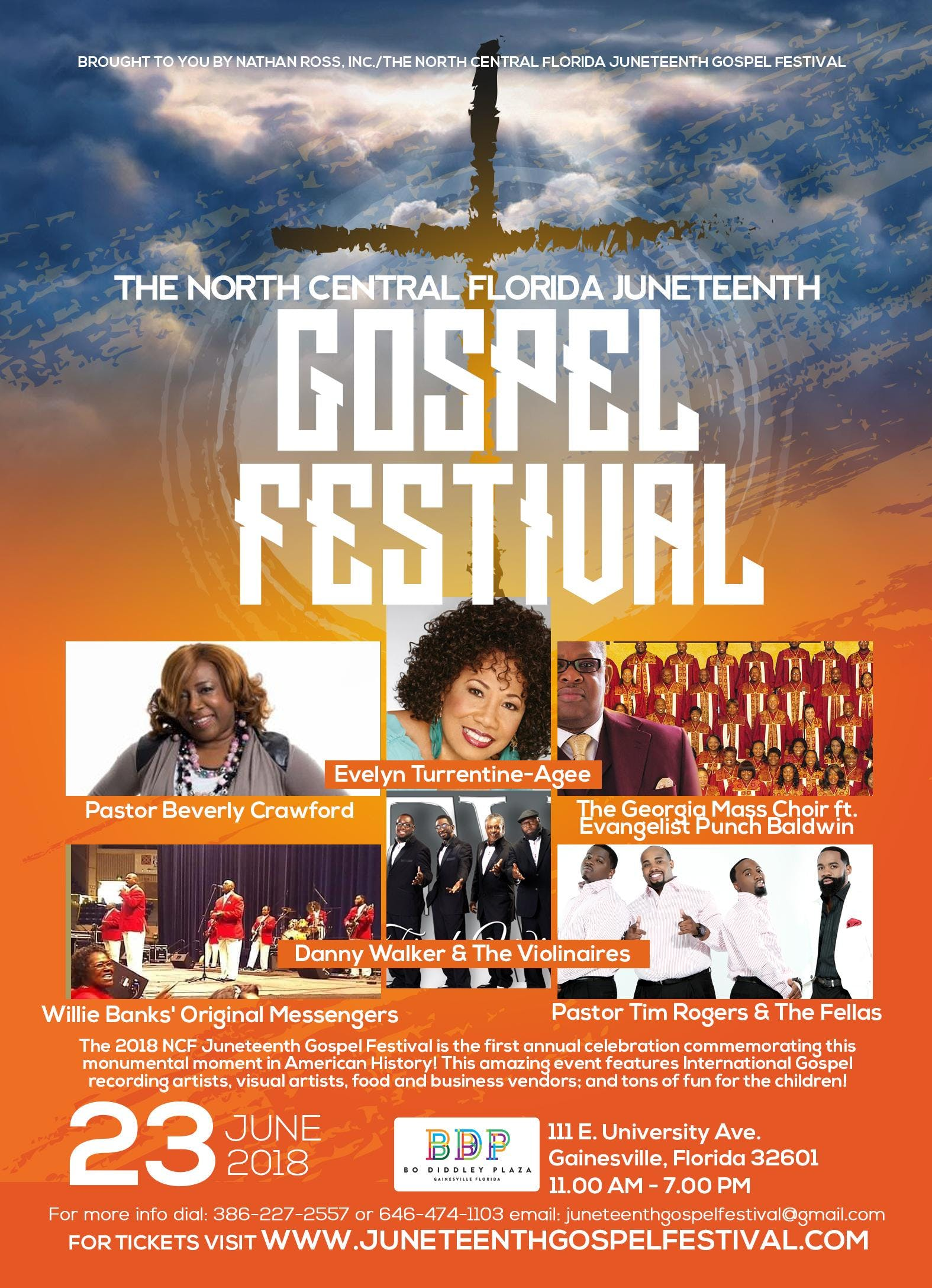 The 2018 North Central Florida Juneteenth Gos
