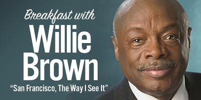 GGBCsf: Breakfast with Willie Brown in Union Square Wed Apr 25th