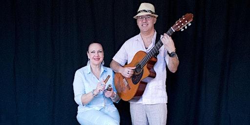 """Beleef Zang Uit Cuba met """"Duo Habanero"""" (CU) zang - gitaar  Latin Top Trio"""