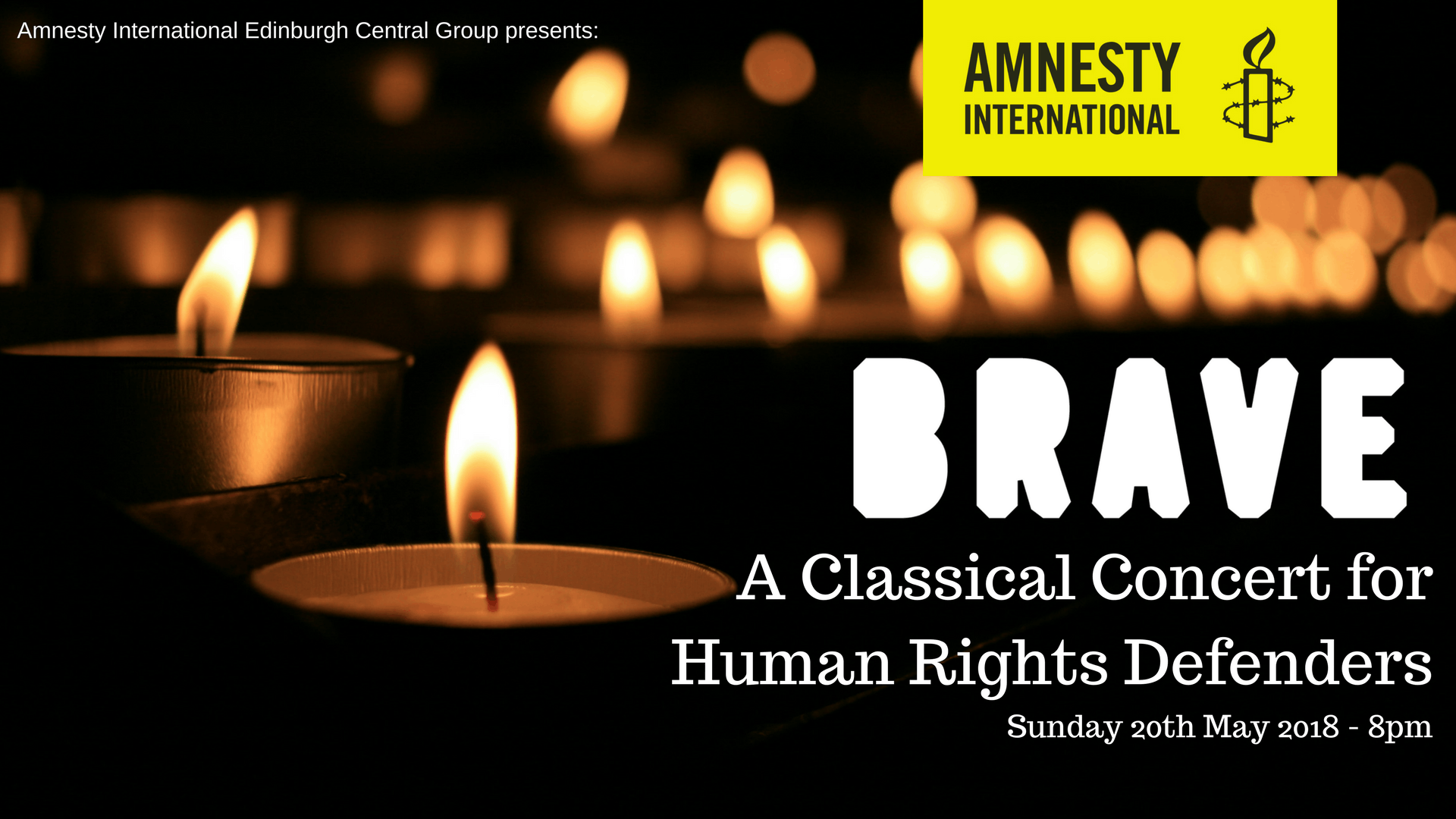 BRAVE - A Classical Concert for Human Rights