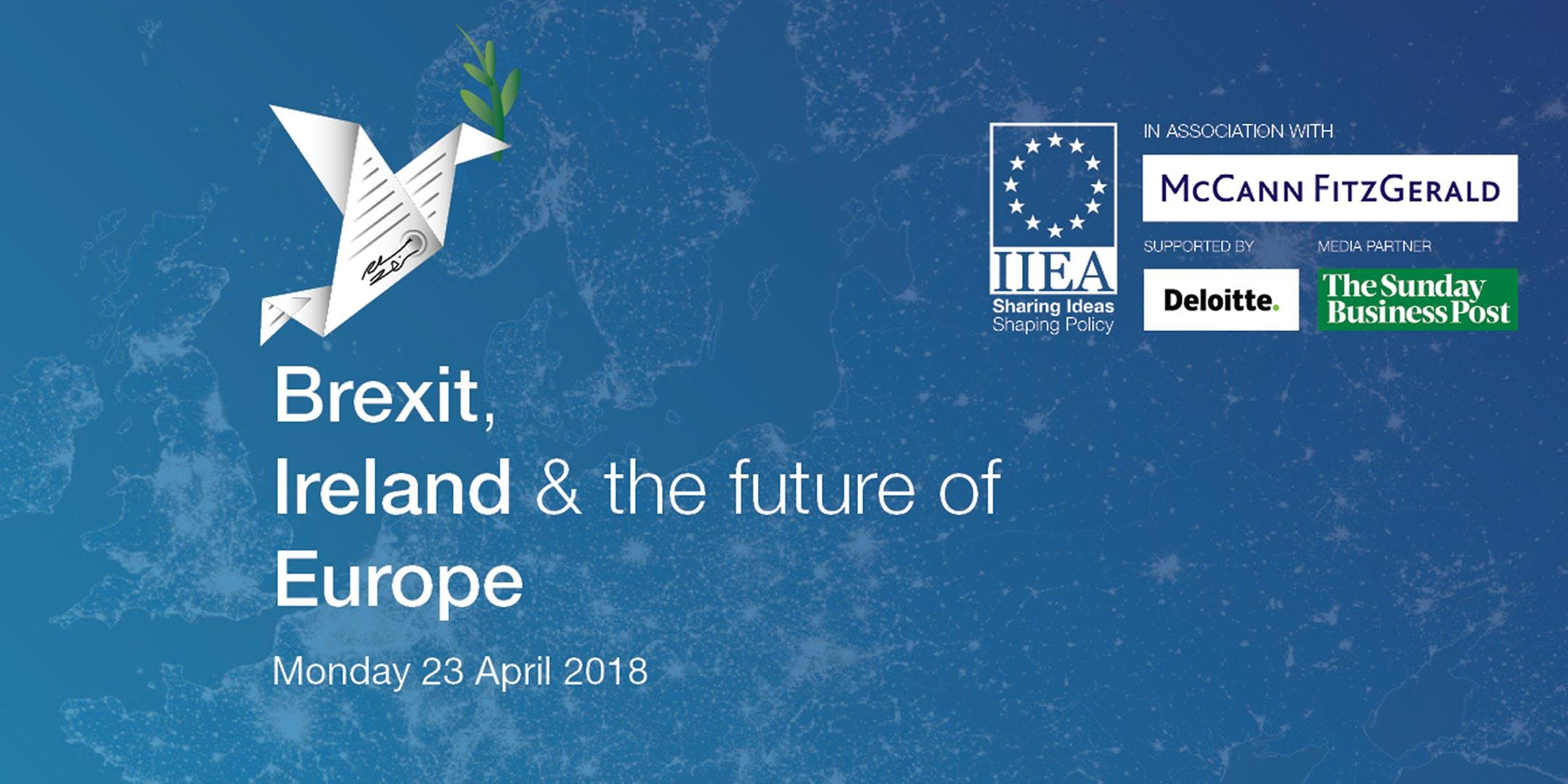 Ireland, Brexit and the Future of Europe