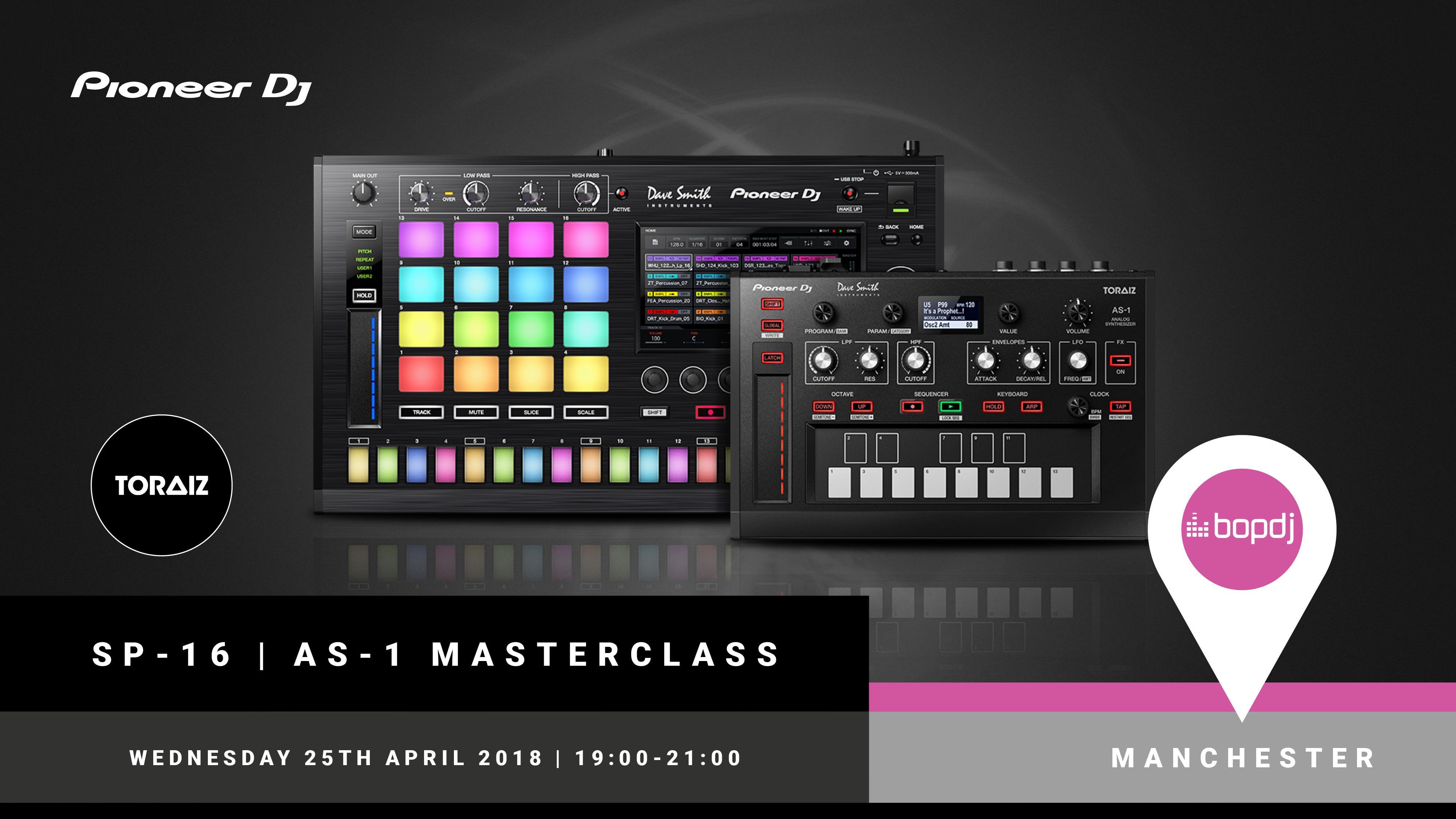 Exclusive - Pioneer DJ Toraiz Masterclass at