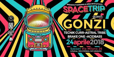 SPACETRIP with GONZI - AREAMITO & BREAKOUT SARDINIA