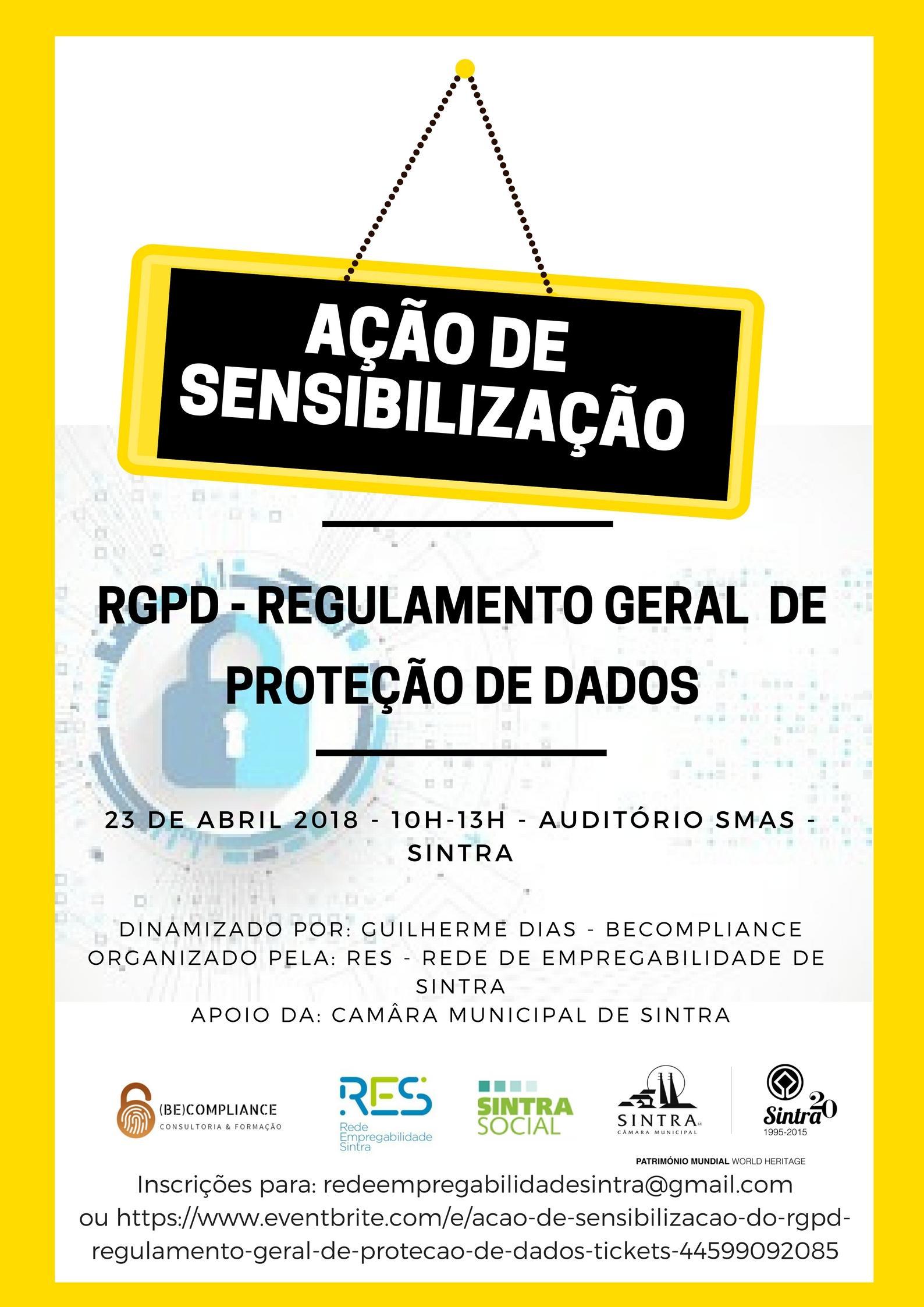 Ação de Sensibilização do RGPD - Regulamento