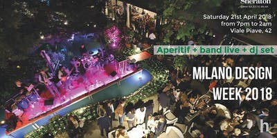 CFM / Fuorisalone 2018 – Garden Design Cocktail PARTY at Hotel Diana Sheraton