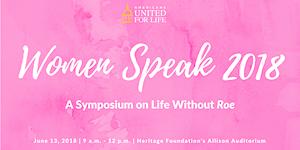 Women Speak 2018