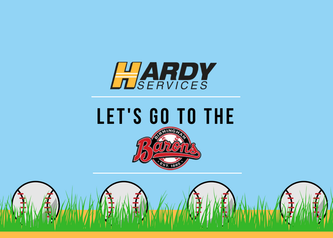Hardy Services Night with the Barons!