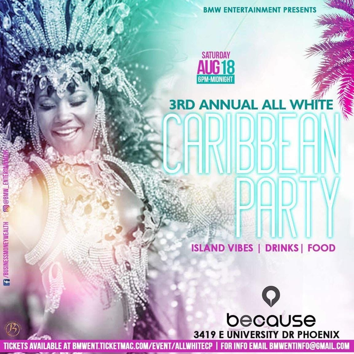 3RD ANNUAL ALL WHITE CARIBBEAN PARTY