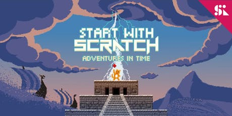 Start with Scratch: Adventures In Time, [Ages 7-10], 24 Jun - 28 Jun Holiday Camp (9:30AM) @ East Coast tickets