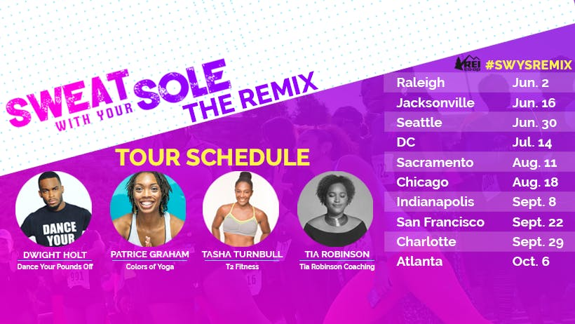 CHICAGO, Sweat With Your Sole 2018 - THE REMI