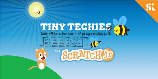 Tiny Techies 1: Take Off with Beebot, littleBits & Scratch Junior, [Ages 5-6], 17 Jun - 21 Jun Holiday Camp (9:30AM) @ East Coast
