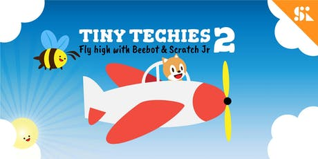 Tiny Techies 2: Fly High with Beebot & Scratch Junior, [Ages 5-6], 2 Dec - 6 Dec Holiday Camp (2:00PM) @ Thomson tickets