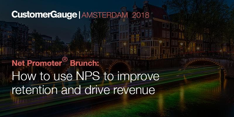 Net Promoter® Brunch: How to use NPS to impro
