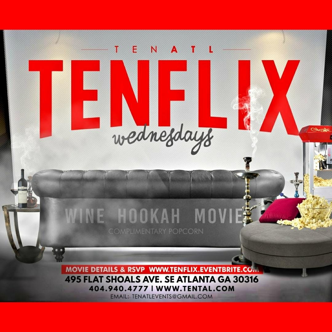 TENFlix Wednesdays: Movie Night w/ DJ Majesti
