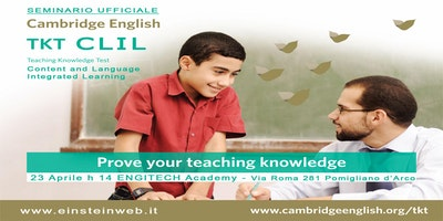 TKT CLIL - Seminario Ufficiale Cambridge English
