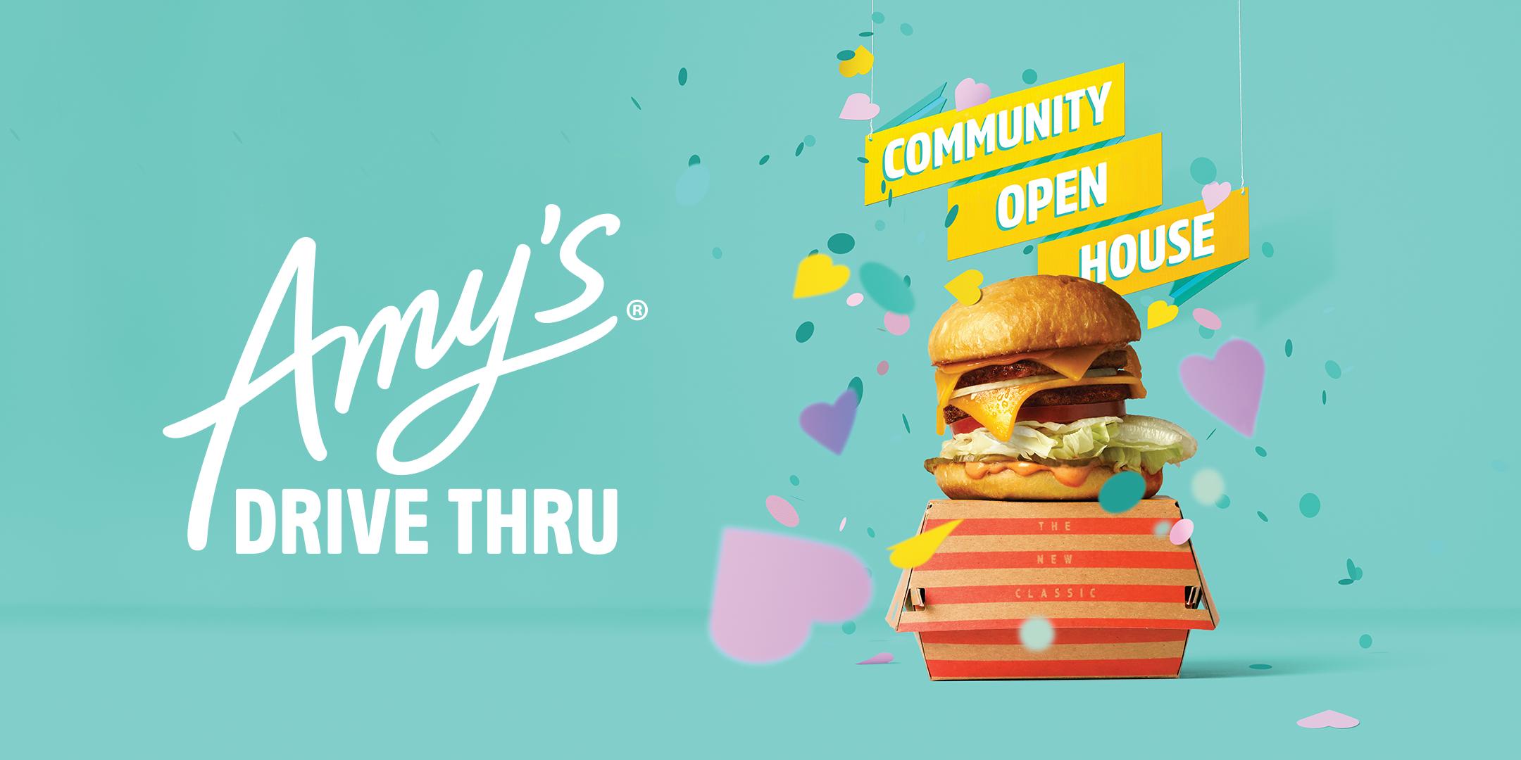 Amy's Drive Thru Marin Community Open House -