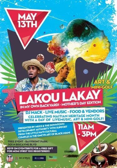 Lakou Lakay: In my Own Backyard - Celebrating