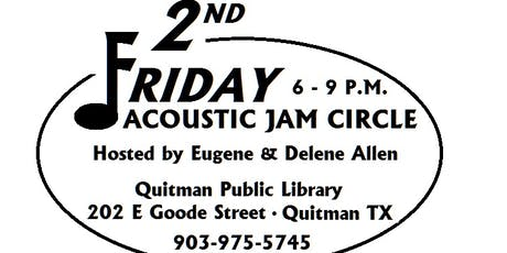 2nd Friday Acoustic Jam Circle tickets
