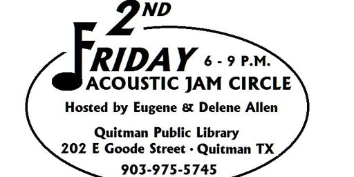 2nd Friday Acoustic Jam Circle