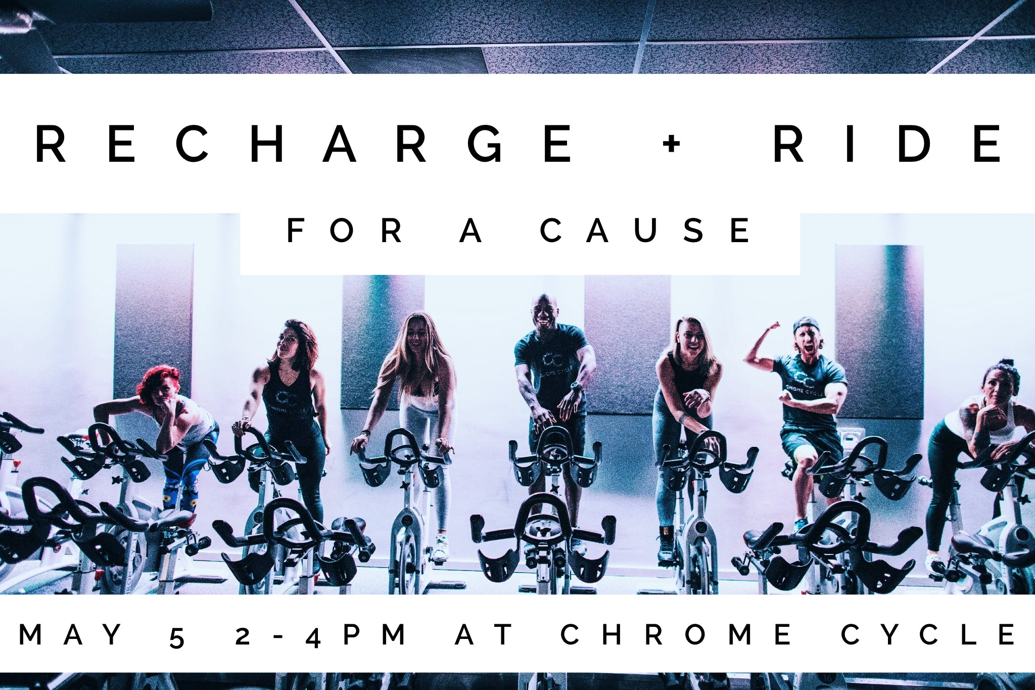 RECHARGE + RIDE FOR A CAUSE
