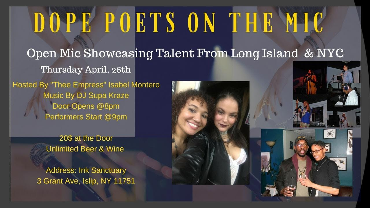 Dope Poets on the Mic