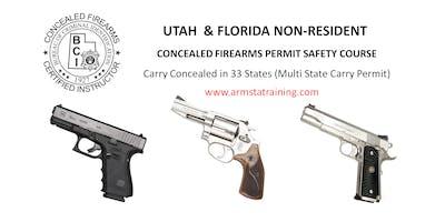 Combo Utah & Florida Non Resident Handgun Permit Course