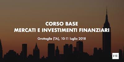 Corso base: Mercati e Investimenti Finanziari