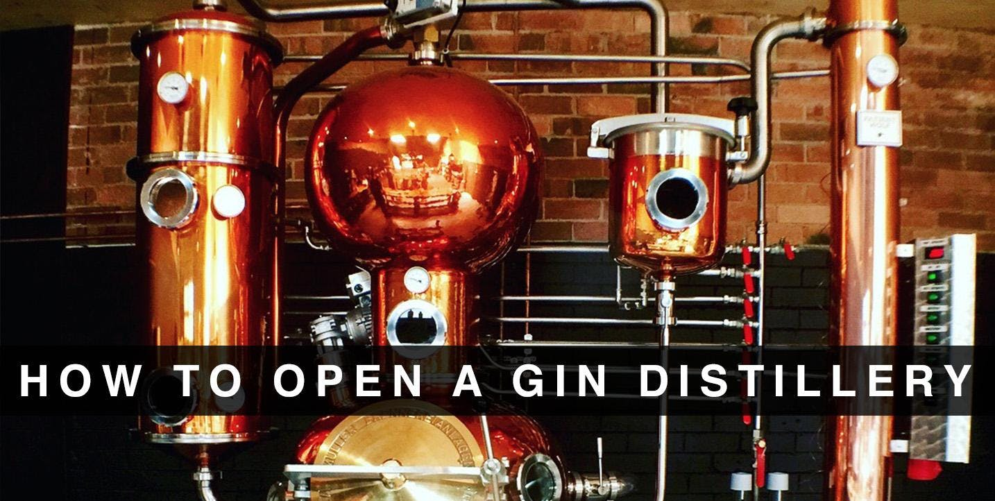 'How To Open A Gin Distillery' Workshop