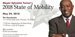 Mayor Turner 2018 State of Mobility
