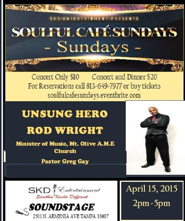 Soulful Cafe Sundays