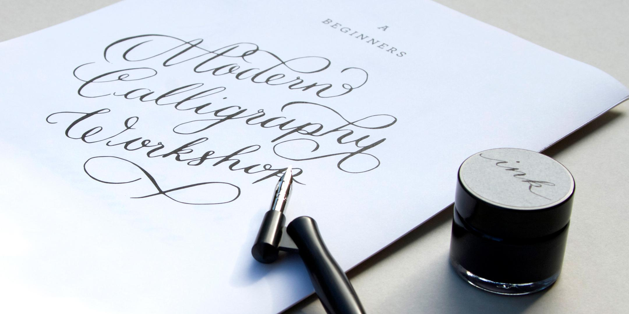 Modern Calligraphy Workshop with À L'aise