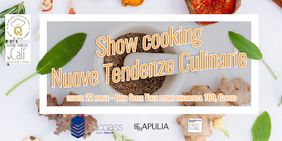 Show Cooking Nuove Tendenze Culinarie