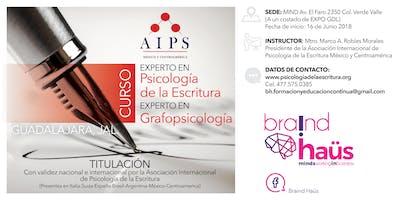 Curso Experto en Psicología de la Escritura / Grafopsicología