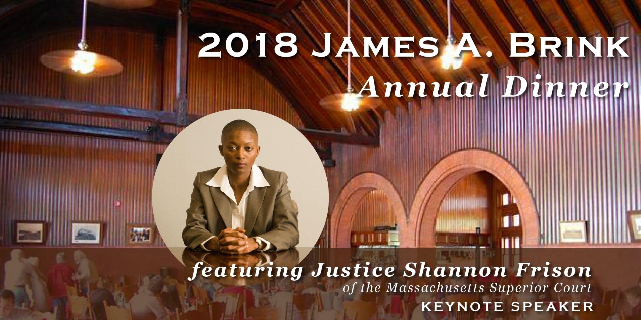 2018 Annual James A. Brink Fellowship Dinner